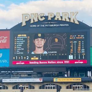 MLB: 久しぶりのMLB観戦 ダルビッシュ登板