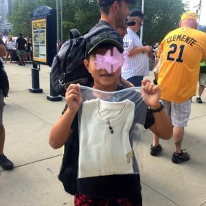 MLB観戦のお楽しみは、宝クジ。