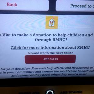 さすが寄付大国アメリカ。うまいなと思った寄付のさせ方。