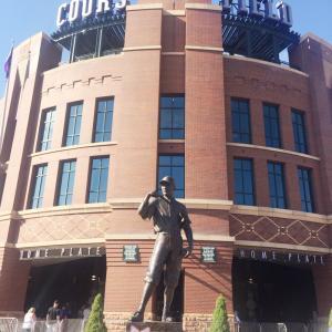 MLB観戦の旅: コロラドロッキーズ Coors Field