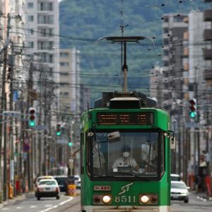 札幌市電と日常  2020/08/02