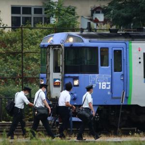 特急ニセコとマヤ検サンド  2020/09/10