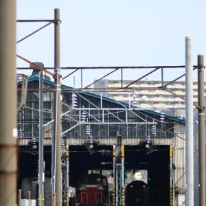 BBQと列車  2021/06/27