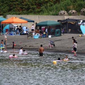 厚田海浜プールとロイヤルエクスプレス  2021/08/01