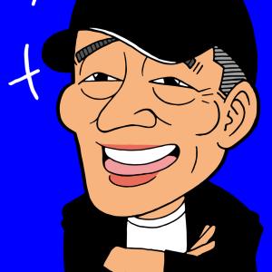 【有名人の似顔絵】高木豊|プロ野球解説者・ユーチューバー