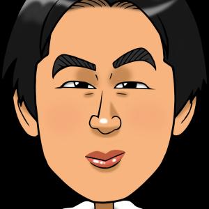 【ネット注文制作】デジタル似顔絵|名刺・SNS用