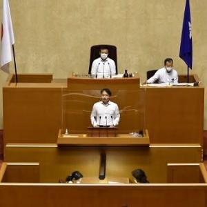 県議会一般質問初日