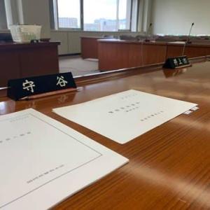 警察常任委員会開催