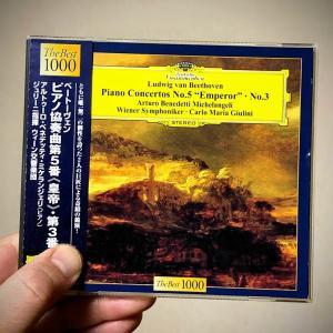 ミケランジェリのベートーヴェン:ピアノ協奏曲第3番ハ短調