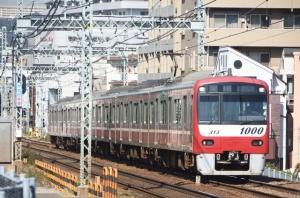 杉田駅近くで京急を撮る