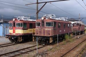 岳南富士岡の機関車を見て、そのあと、岳南電車を撮影する