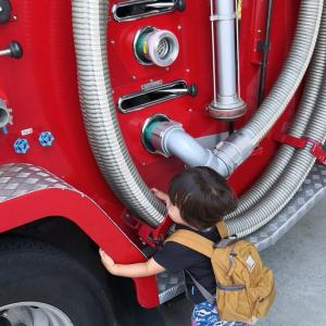 消防署見学ツアー