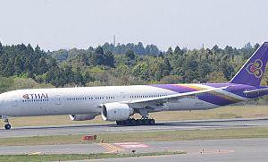 「タイ国際航空」が、4・5月の二ヵ月間全ての旅客フライトを休止