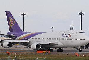 「タイ国際航空」ボーイングB747-400(ジャンボジェット)の退役が早まるかも