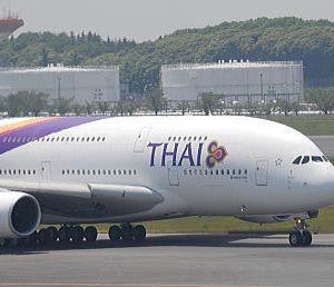 「タイ国際航空」のフライト・シミュレーターを有料で体験できる