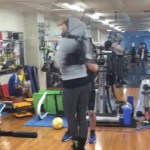 ハーネストレーニング フィギュアスケート練習設備 完成!