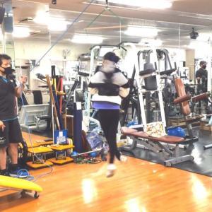 大好評! フィギュアスケート ハーネストレーニング トライ体幹理論パーソナルトレーニング!