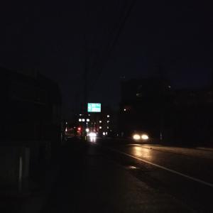 【早朝ジョギング】夜から朝への変わり時には変わった人が多い件