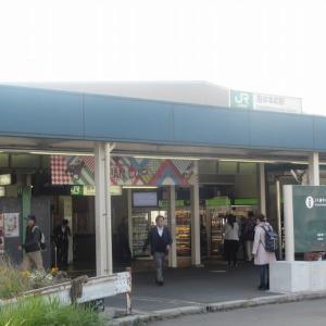 カタツムリ歩行同窓会で府中本町駅周辺を歩く(東京・府中)(前半)