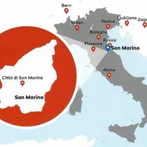 イタリア8日間の旅⑤ サンマリノ、サンセポルクロ、ポッピ観光後ボローニャへ(1)