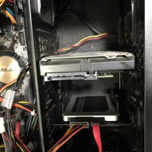 デスクトップPCをHDDからSSDに換装