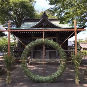 ☆夏越の大祓式(輪くぐりさま)