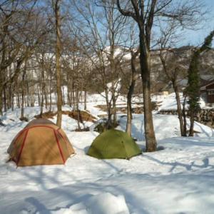 春待ち スノーキャンプ イン 3月1日から20日まで限定開催!!
