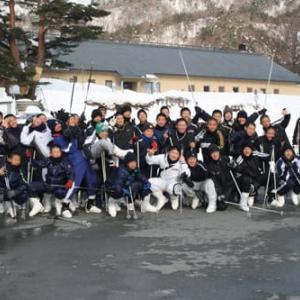 比叡山高校硬式野球部 冬 心・体リセット合宿