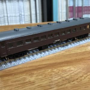 シリーズ「自分なりのNゲージ鉄道模型」はじめて作ったGMの旧型客車キット+@
