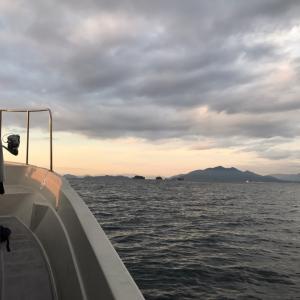 11月17日 岩国沖のサワラキャスティング