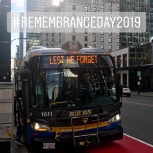 今日は、Remembrance Day でお休みです。