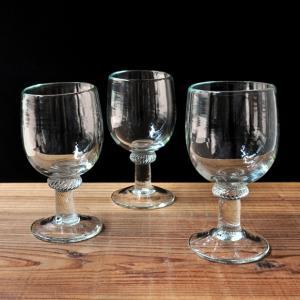 イランの手吹きワイングラス