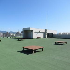十字街「函館市企業局」多目的広場