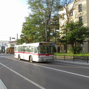 【函館・街歩き】函館山の麓、バス通り