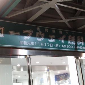 函館山ロープウェイ市民感謝デーに行ってきました(A面)