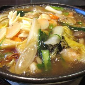 海鮮中華料理 海風楼「海鮮あんかけ焼そば」
