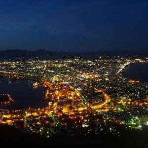バスに乗って函館山山頂展望台から夜景を見よう(2020年版)