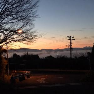 秋の西蒲三山