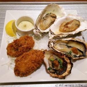 牡蠣のトリプル御膳
