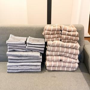 タオルはまとめ買いがオススメ&タオルが臭くならない工夫
