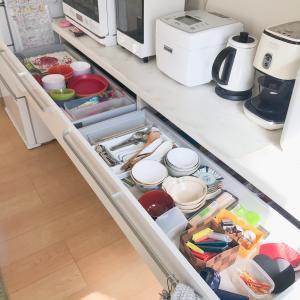 Before→After*キッチンの引き出しは一番よく使うモノを