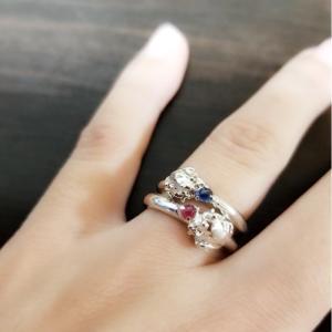 新作カエルの指輪
