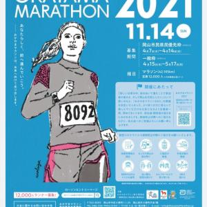 (祝)岡山マラソン2021当選