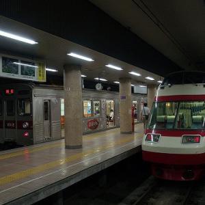 【8/8】夏の長野県私鉄巡りその5~さっそく対面、長野電鉄の鉄道むすめラッピング車両