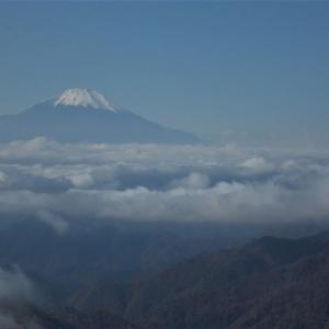 ずるずると山頂へ;素晴らしい富士山の眺望を堪能した丹沢;塔ノ岳(2019年33回目)
