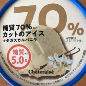 シャトレーゼ 糖質カットアイス マダガスカルバニラ