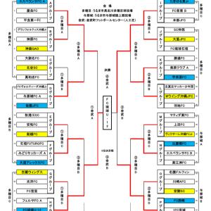 JA共済カップ 県大会 最終結果表