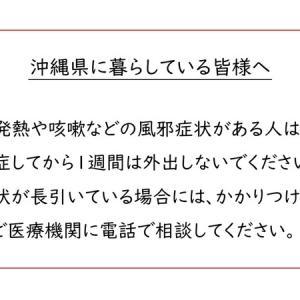 沖縄県に暮らしている皆様へ 新型コロナウイルスの流行を抑え込むために
