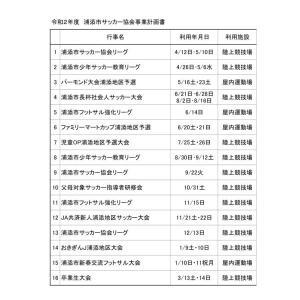 年間事業計画(浦添市・与那原町)