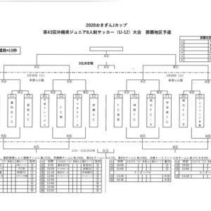 対戦表(再変更版)おきぎんJカップ那覇地区大会